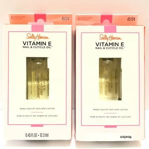 Sally Hansen Makeup - 3/$27 2pk Sally Hansen Vitamin E Nail Cuticle Oil